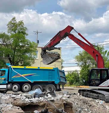 Milwaukee Concrete and Asphalt Removal Wisconsin
