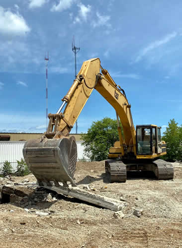 Digging Excavating Demolition Concrete Removal Milwaukee Area Wisconsin